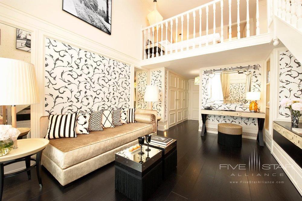 Duplex Suite at Castille Paris