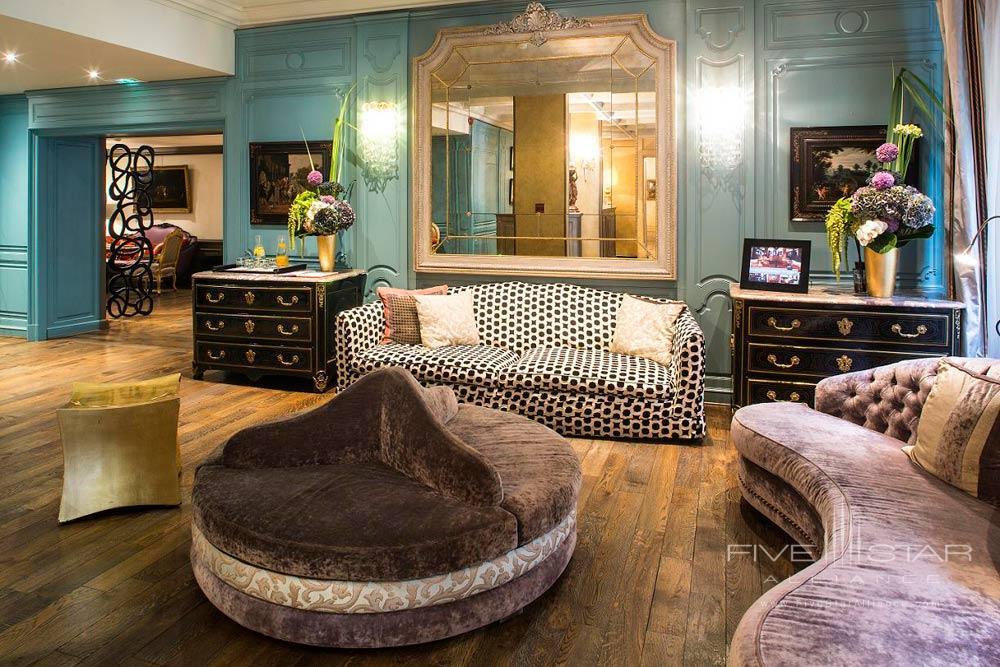 Lobby at Castille Paris