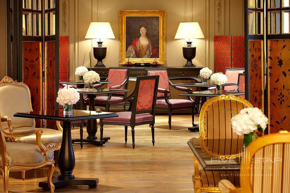 Salon de The at Castille Paris