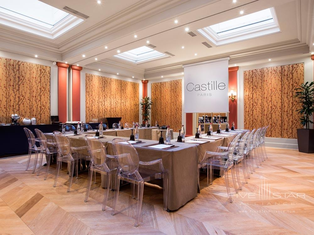 Meeting Room at Castille Paris