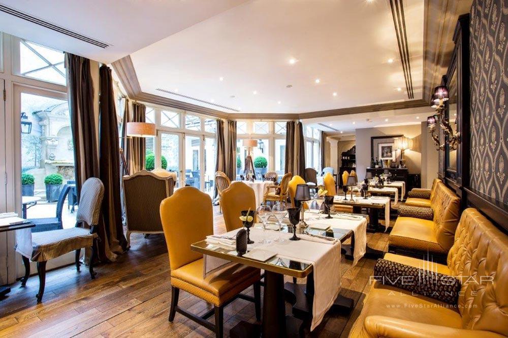 Assaggio Dining Room at Castille Paris