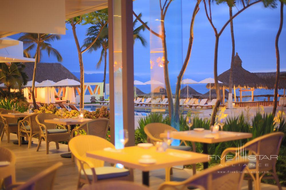 La Corona Outdoor Dining Venue at Villa Premiere Hotel and SpaPuerto Vallarta