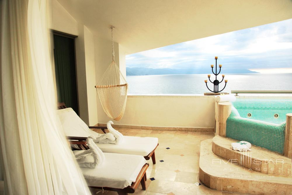 Master Suite Terrace at Villa Premiere Hotel and SpaPuerto Vallarta