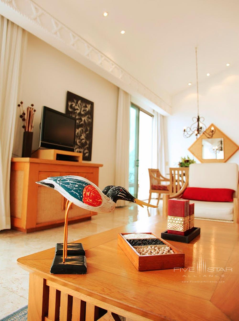 Master Suite Living Area at Villa Premiere Hotel and SpaPuerto Vallarta