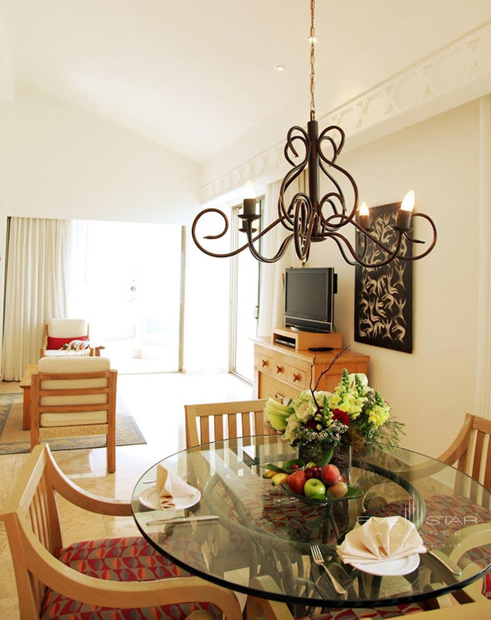 Master Suite Dining Room at Villa Premiere Hotel and SpaPuerto Vallarta