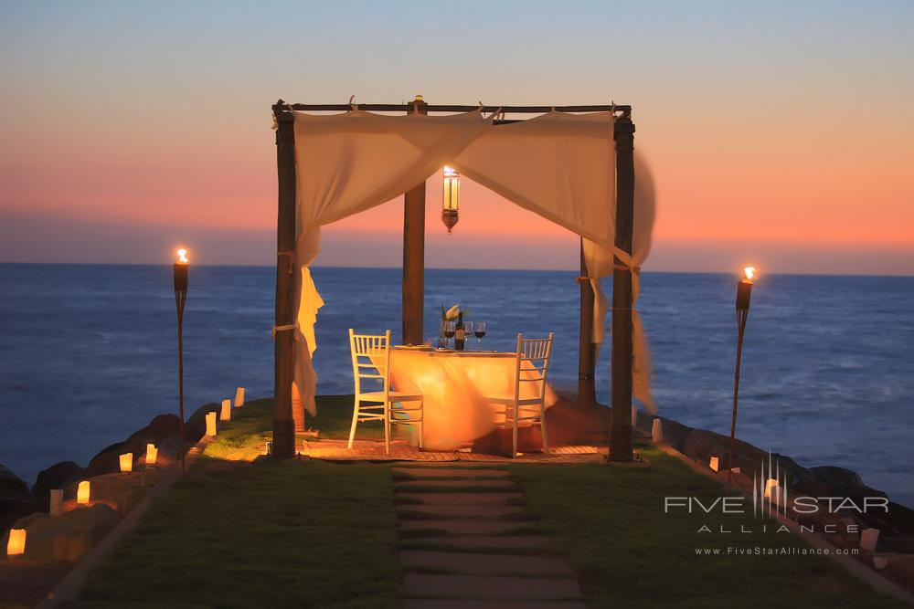Romantic Dining Setup at Villa Premiere Hotel and SpaPuerto Vallarta