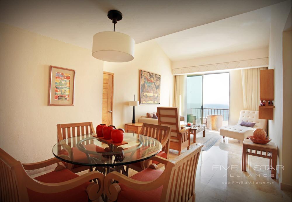 Spa Suite Dining Room at Villa Premiere Hotel and SpaPuerto Vallarta