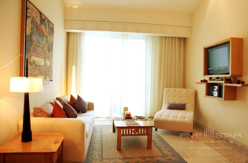 Spa Suite Living Room at Villa Premiere Hotel and SpaPuerto Vallarta