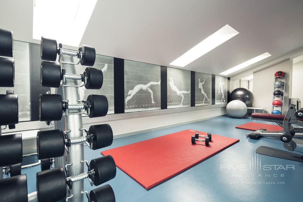 Fitness Center at Astoria 7 Hotel, San Sebastian, Spain