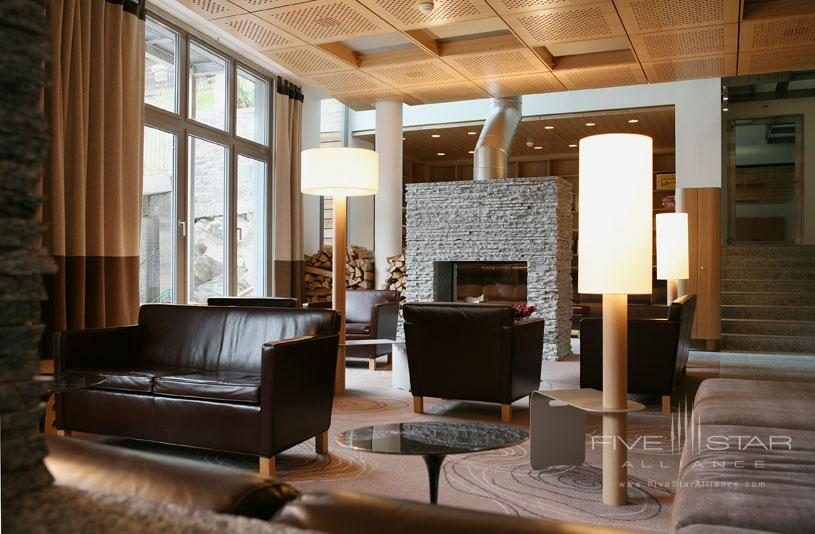 Living Area at The Omnia Hotel