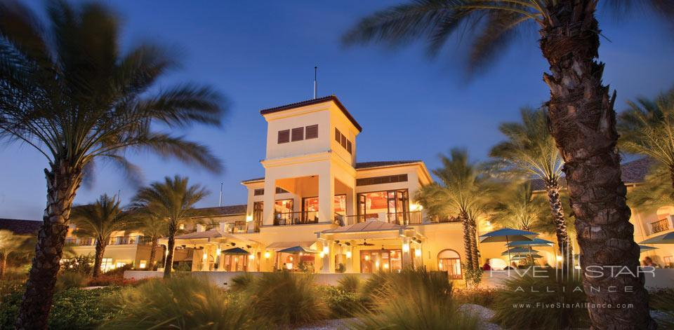 Resort View by Night at Santa Barbara Beach Golf Resort
