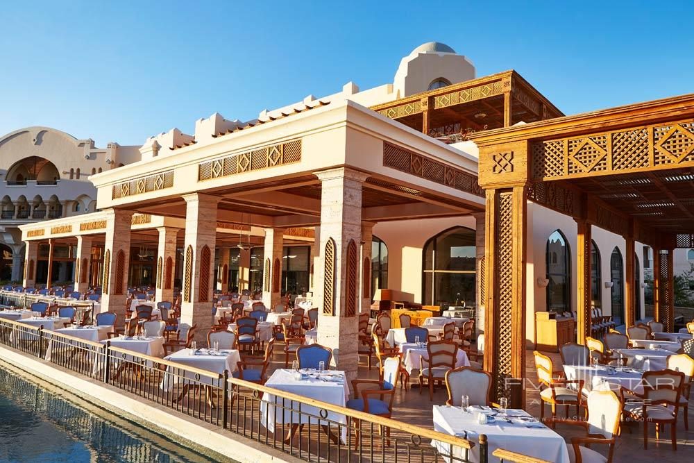 Dining at Kempinski Hotel Soma Bay, Hurghada, Red Sea, Egypt