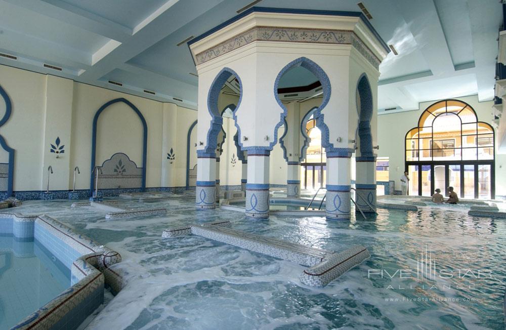Aquatonic pool at Kempinski Hotel Soma Bay, Hurghada, Red Sea, Egypt