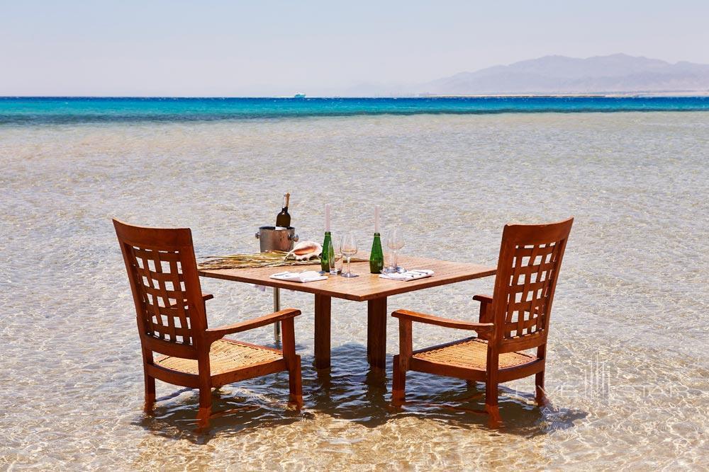 Private dinner set-up at Kempinski Hotel Soma BayHurghadaRed SeaEgypt