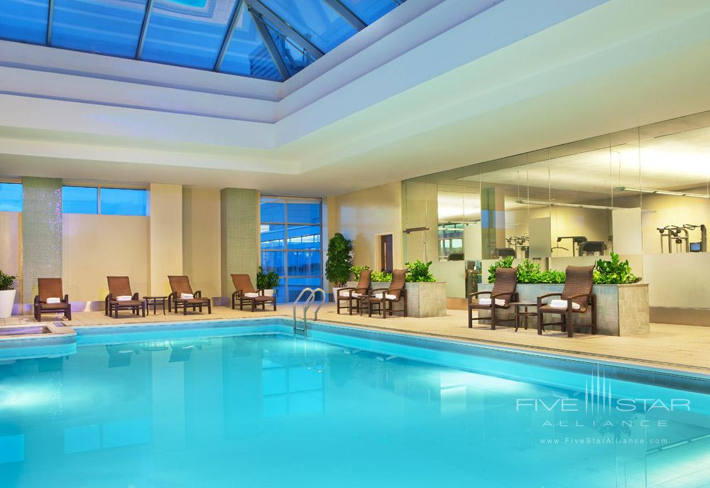 Indoor Pool at The Westin Boston Waterfront, MA