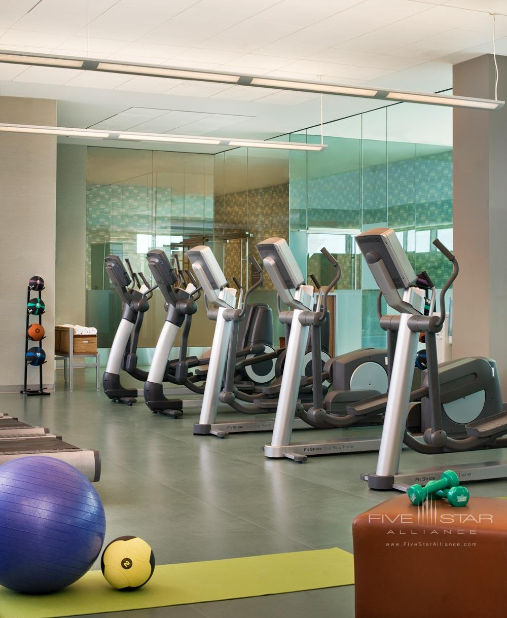 Fitness Center at The Westin Boston Waterfront, MA