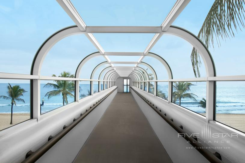 The Westin Beach Resort & Spa Fort Lauderdale Walkway to the Beach