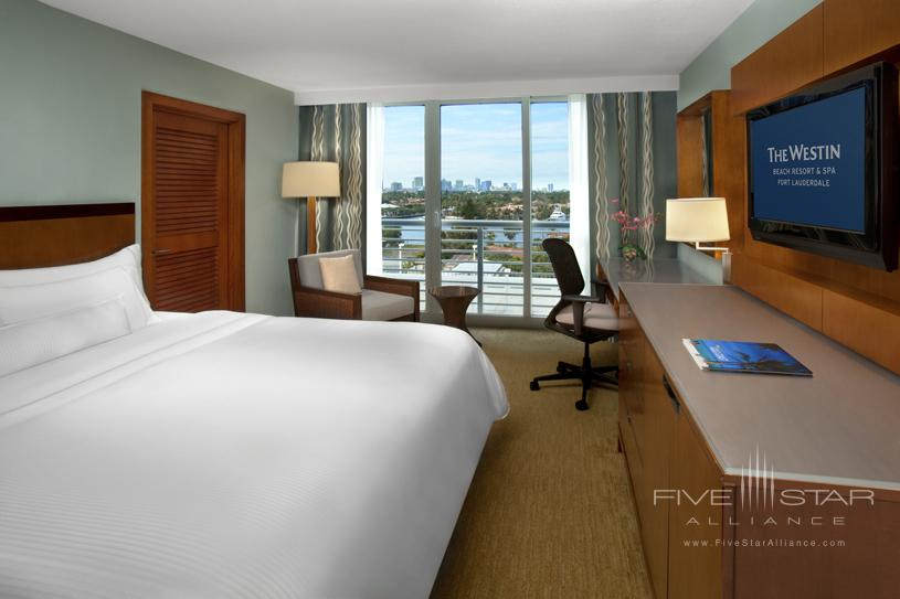 Westin Fort Lauderdale Beach King Room Intercoastal View