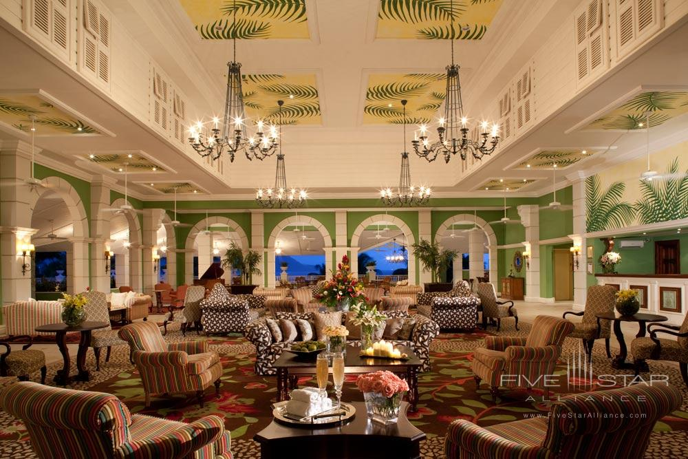 Reception and Lounge at Sandals Grande St. Lucian, Gros Islet, Saint Lucia