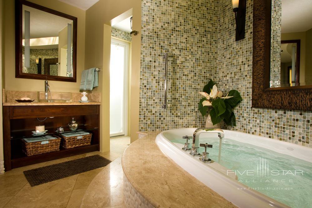 Suite Bath at Sandals Grande St. Lucian Gros Islet, Saint Lucia