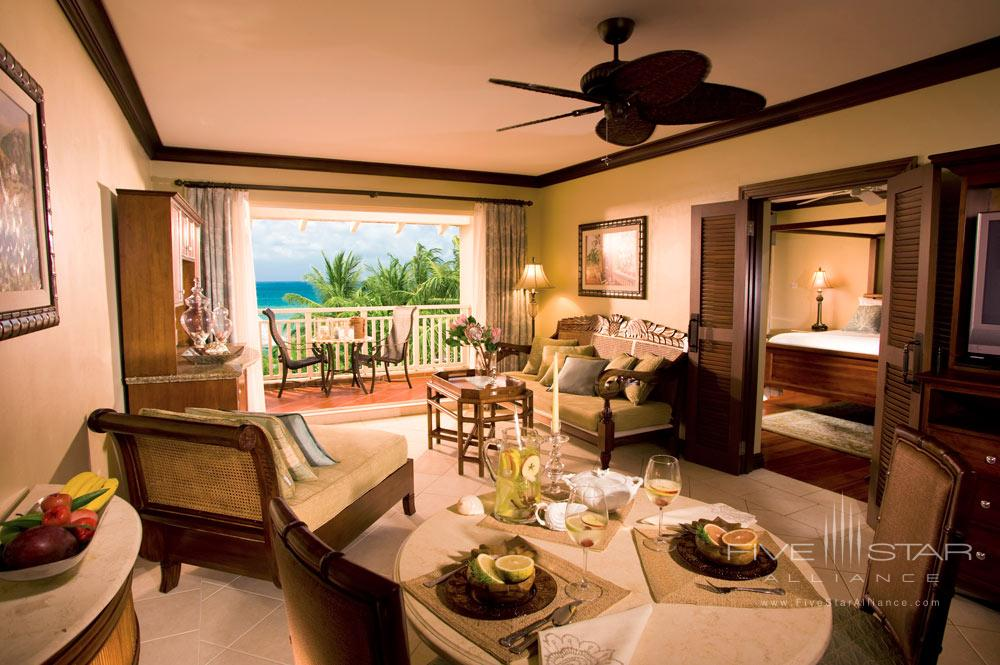 Suite Lounge at Sandals Grande St. Lucian Gros Islet, Saint Lucia
