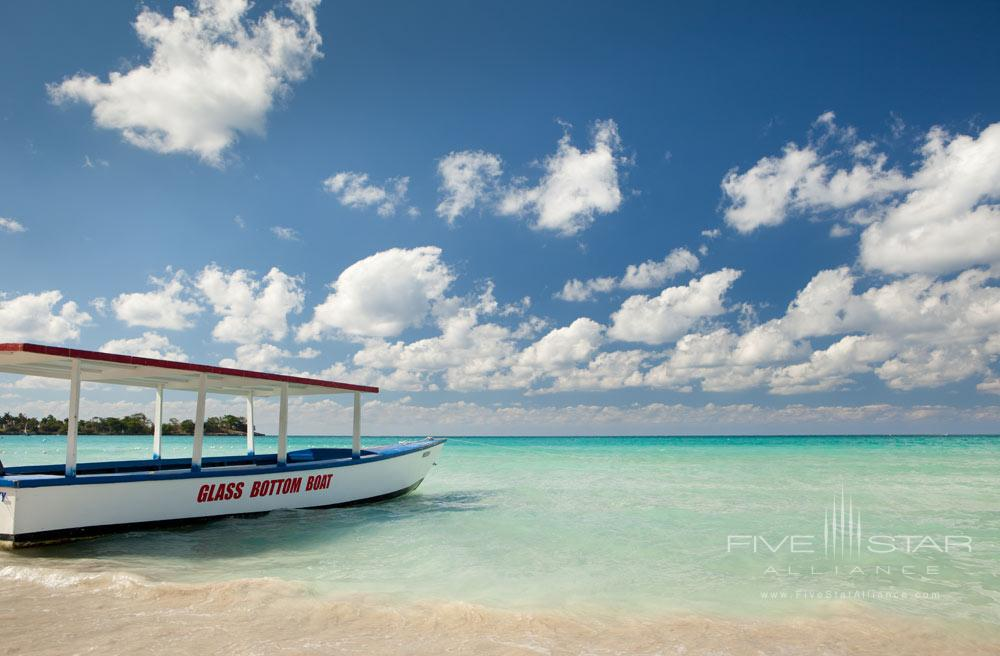 Glass Bottom Boat at Couples Negril All Inclusive