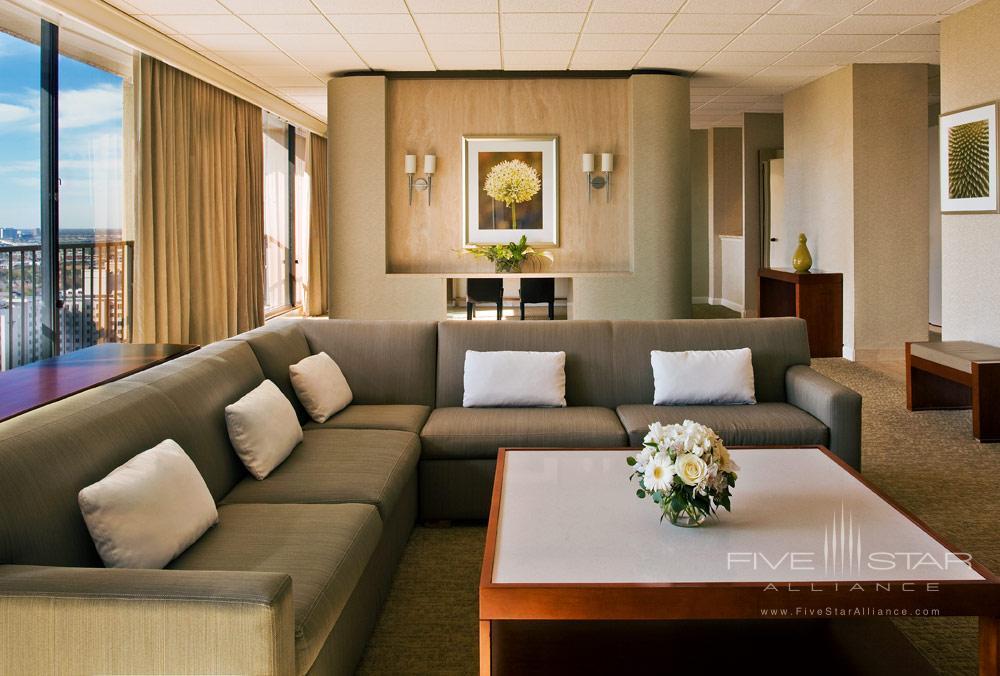 Suite Living Room at Westin Galleria HoustonTX