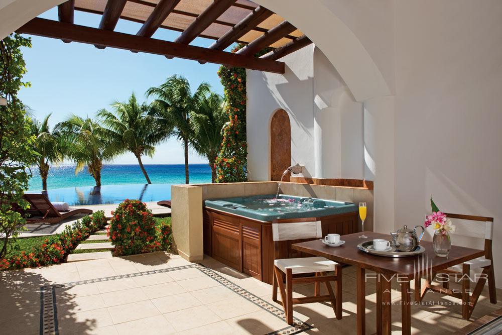 Terrace at Zoetry Villa Rolandi Isla Mujeres, Mexico