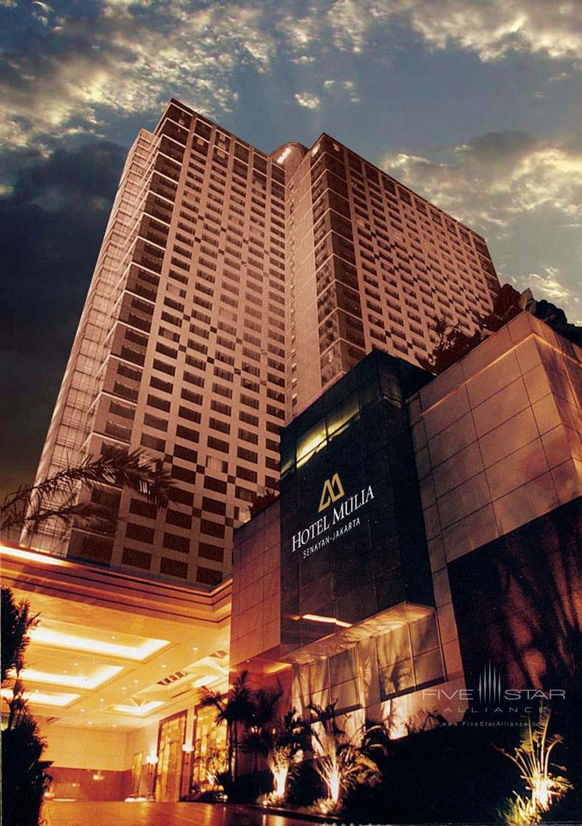 Hotel Mulia Senayan Exterior