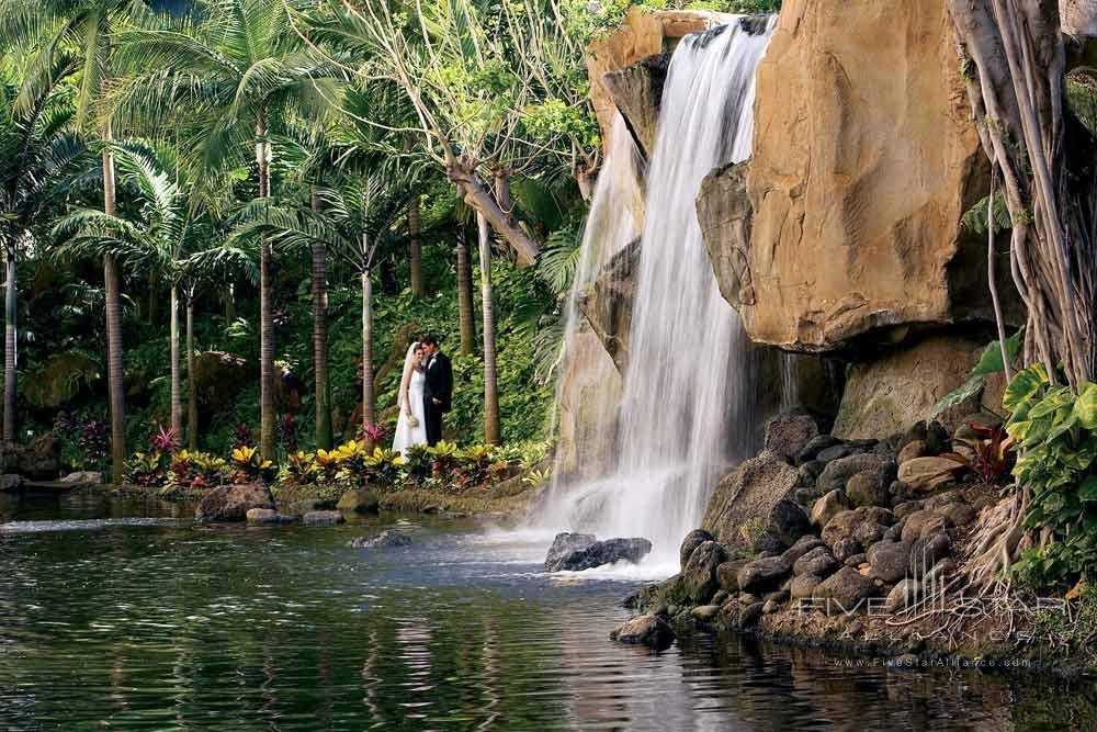 Waterfall Wedding at Westin Maui
