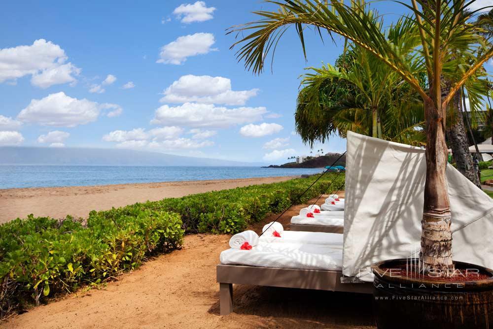 Beach Cabanas at Westin Maui