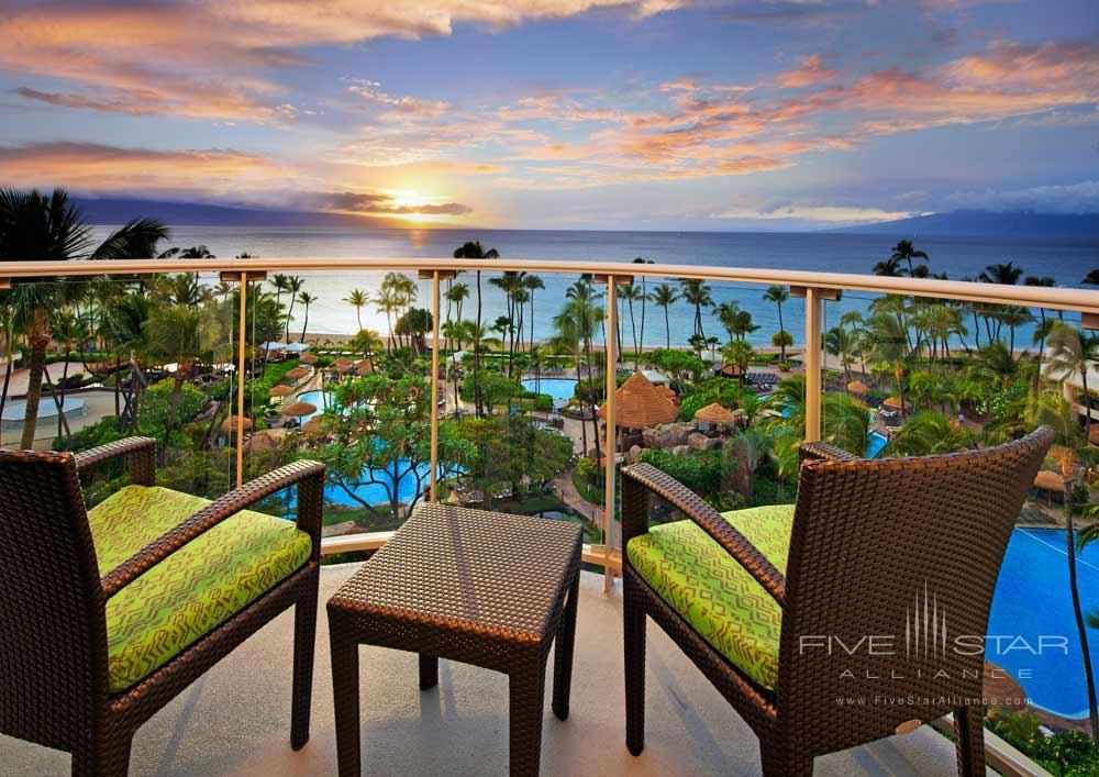 Ocean Tower Suite Terrace at Westin Maui