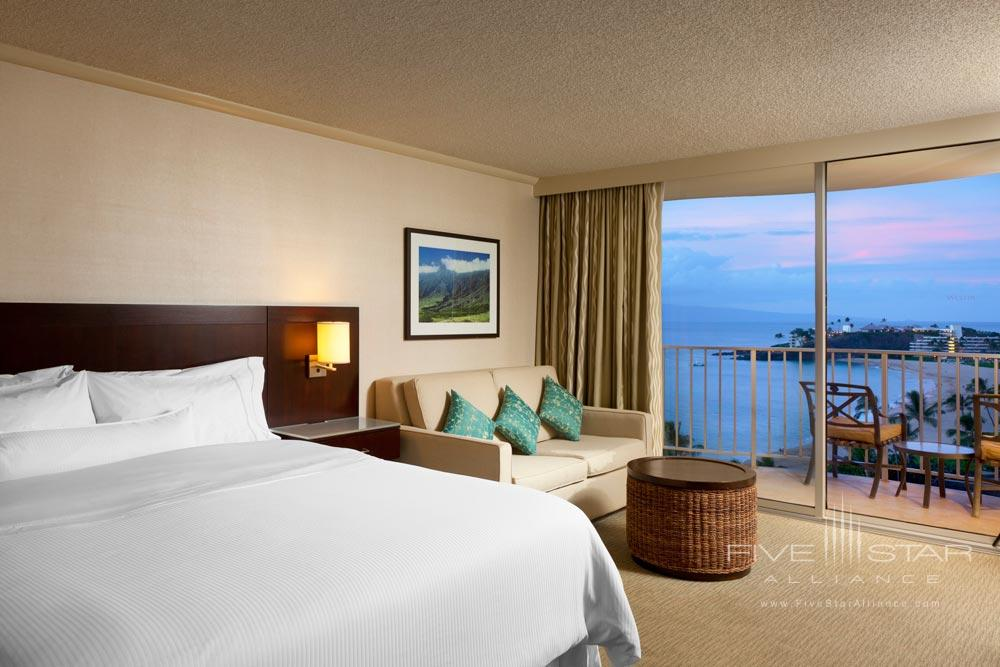 Deluxe Ocean View Guest Room at Westin Maui