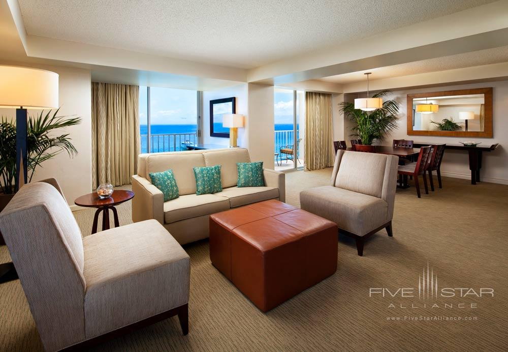 Sitting Area in Luxury Suite at Westin Maui