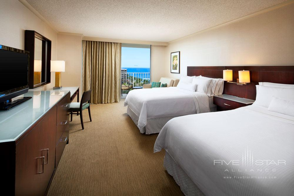Beach Tower Double Room at Westin Maui