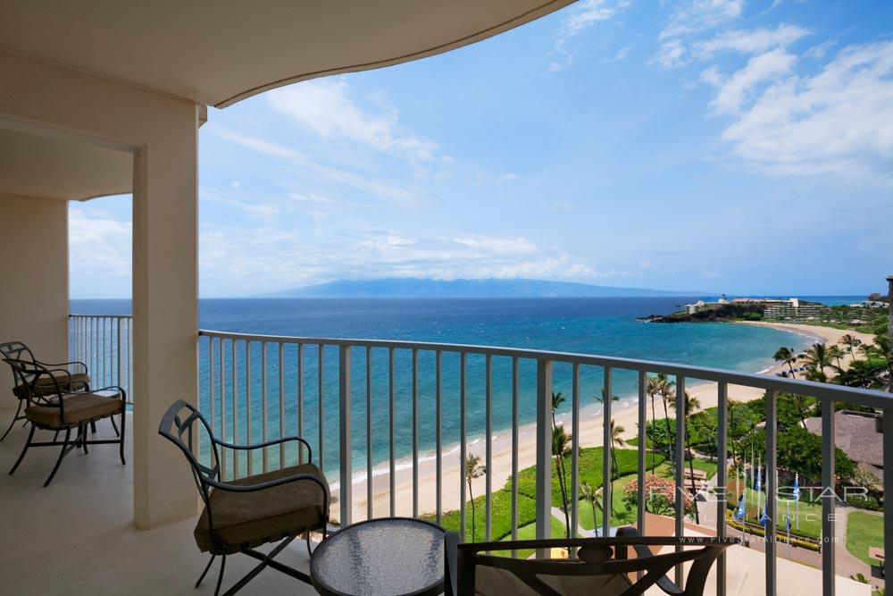 Premier Suite Lanai at Westin Maui