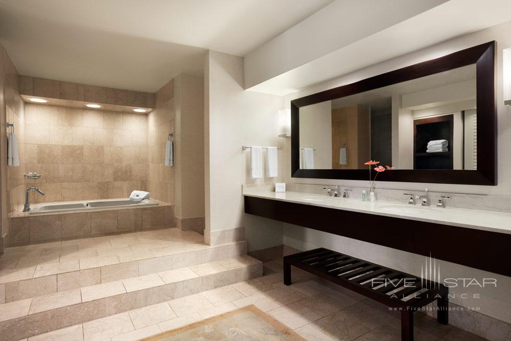 Luxury Suite Bath at Westin Maui Resort
