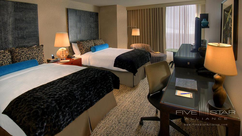 Double Queen Guest Room at Hotel Palomar Beverly Hills, Los Angeles, CA, United States