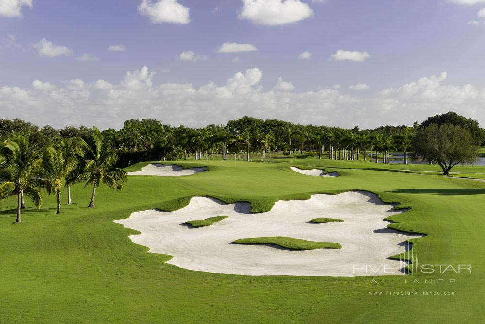 Blue Monster Hole Golf Course at Trump International DoralMiamiFL