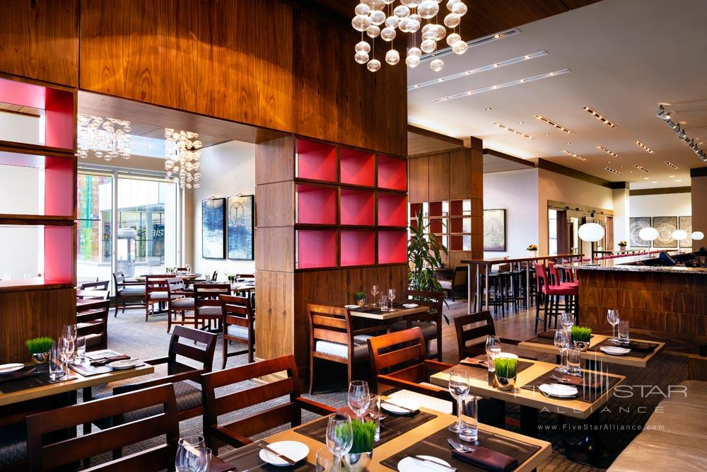 Dining at Le Westin MontrealCanada