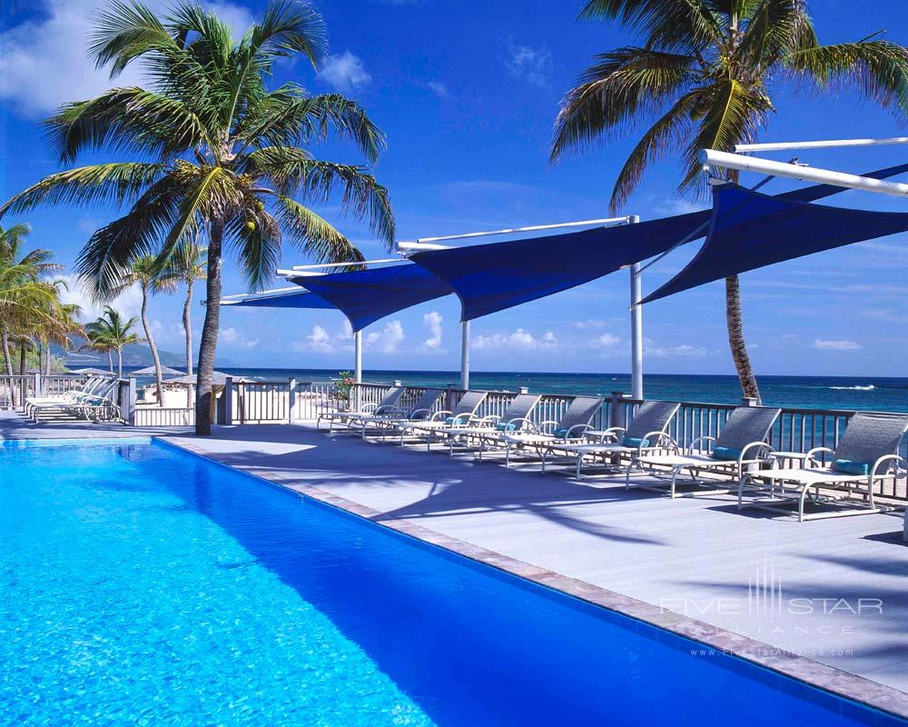 Pool at Nisbet Plantation Beach Club NevisSaint Kitts and Nevis