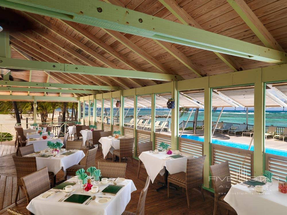 Coconuts Dining at Nisbet Plantation Beach Club NevisSaint Kitts and Nevis