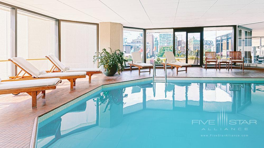 Indoor Pool at The Westin OttawaONCanada
