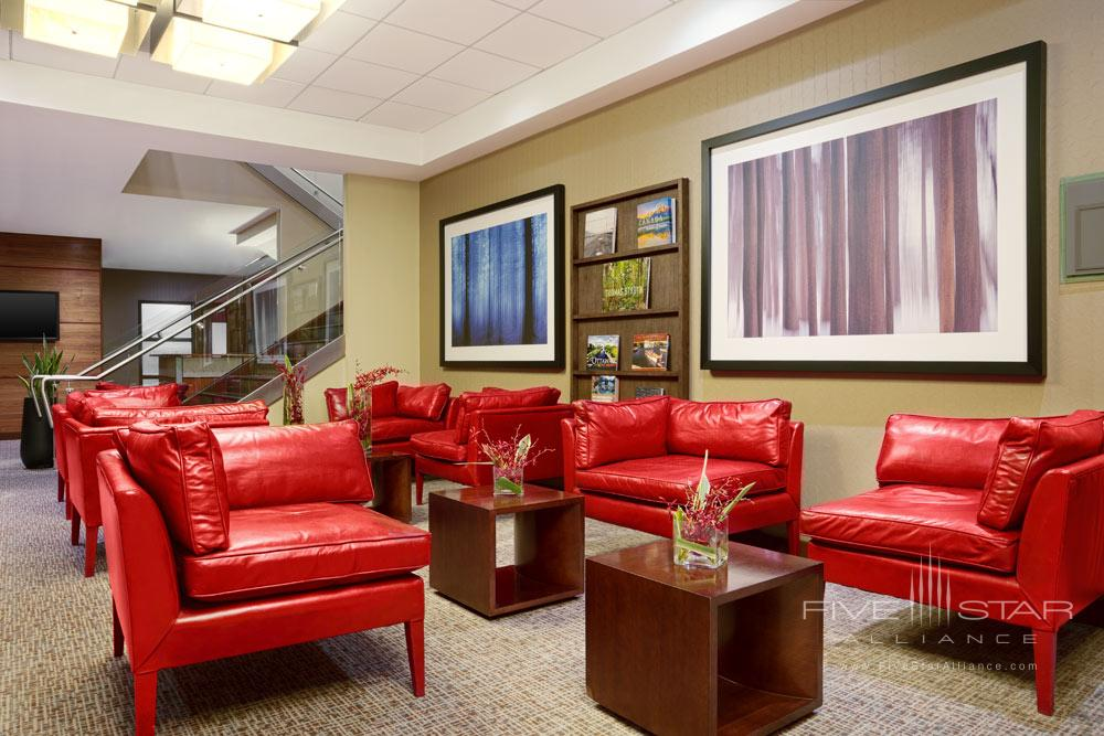 Lounge at The Westin OttawaONCanada