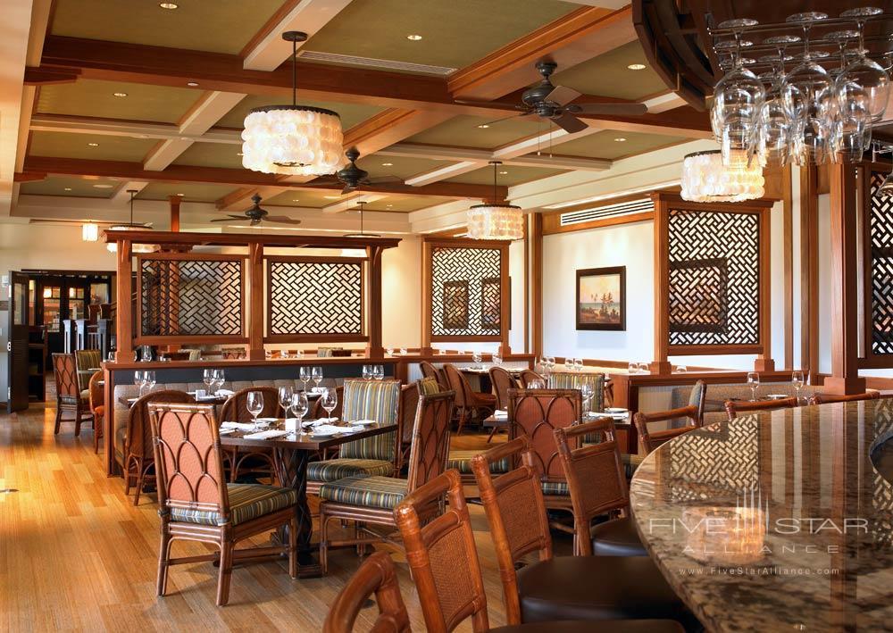 Dining at The Westin Princeville Ocean Resort Villas, HI