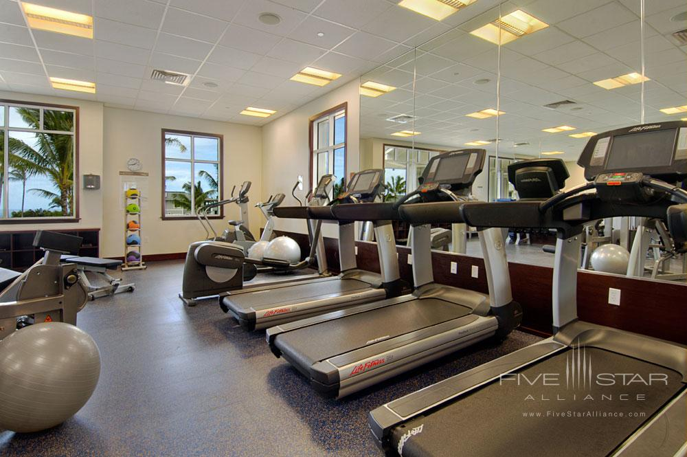 Fitness Center at The Westin Princeville Ocean Resort Villas, HI