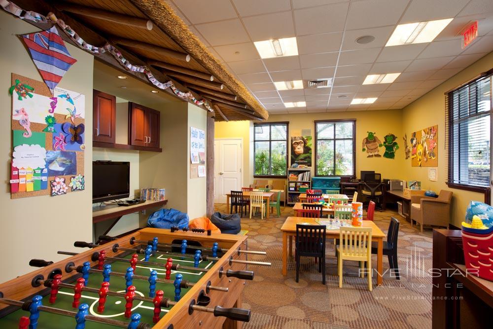 Kids Club at The Westin Princeville Ocean Resort Villas, HI
