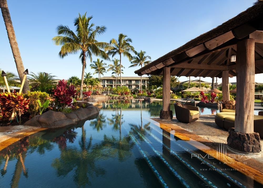 Outdoor Pool and Lounge at The Westin Princeville Ocean Resort Villas, HI