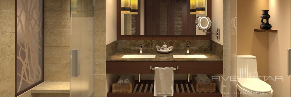 Bath in Suite at Hyatt Ziva Puerto Vallarta