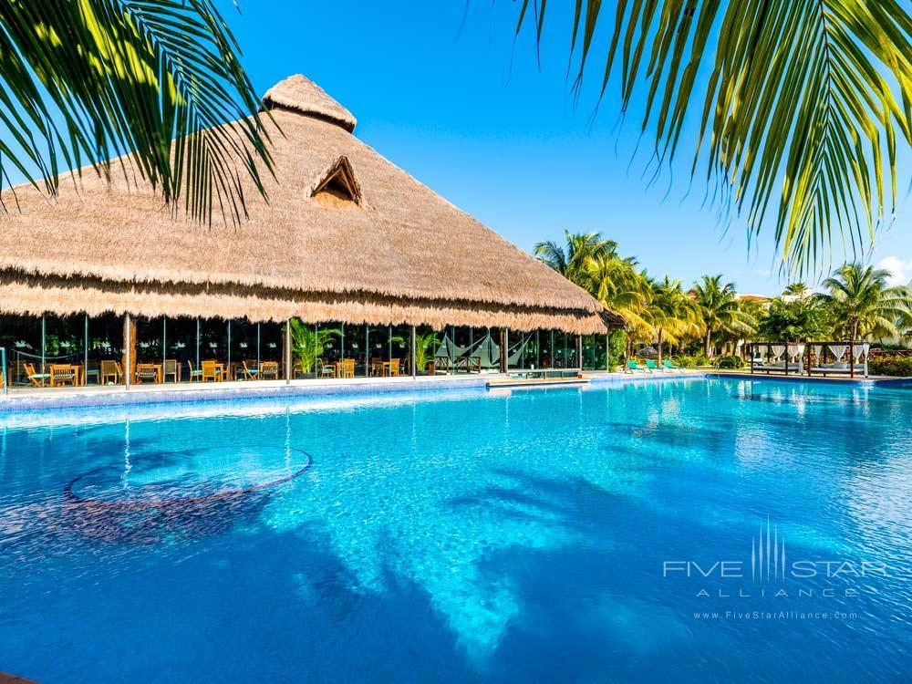 Fuentes Pool at El Dorado Royale Spa Resort